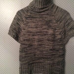 ✨ Turtleneck Sweater Rib Chunky Knit Cap Sleeves